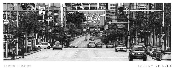 William Street (2013) - Museum quality 200gsm matte prints.