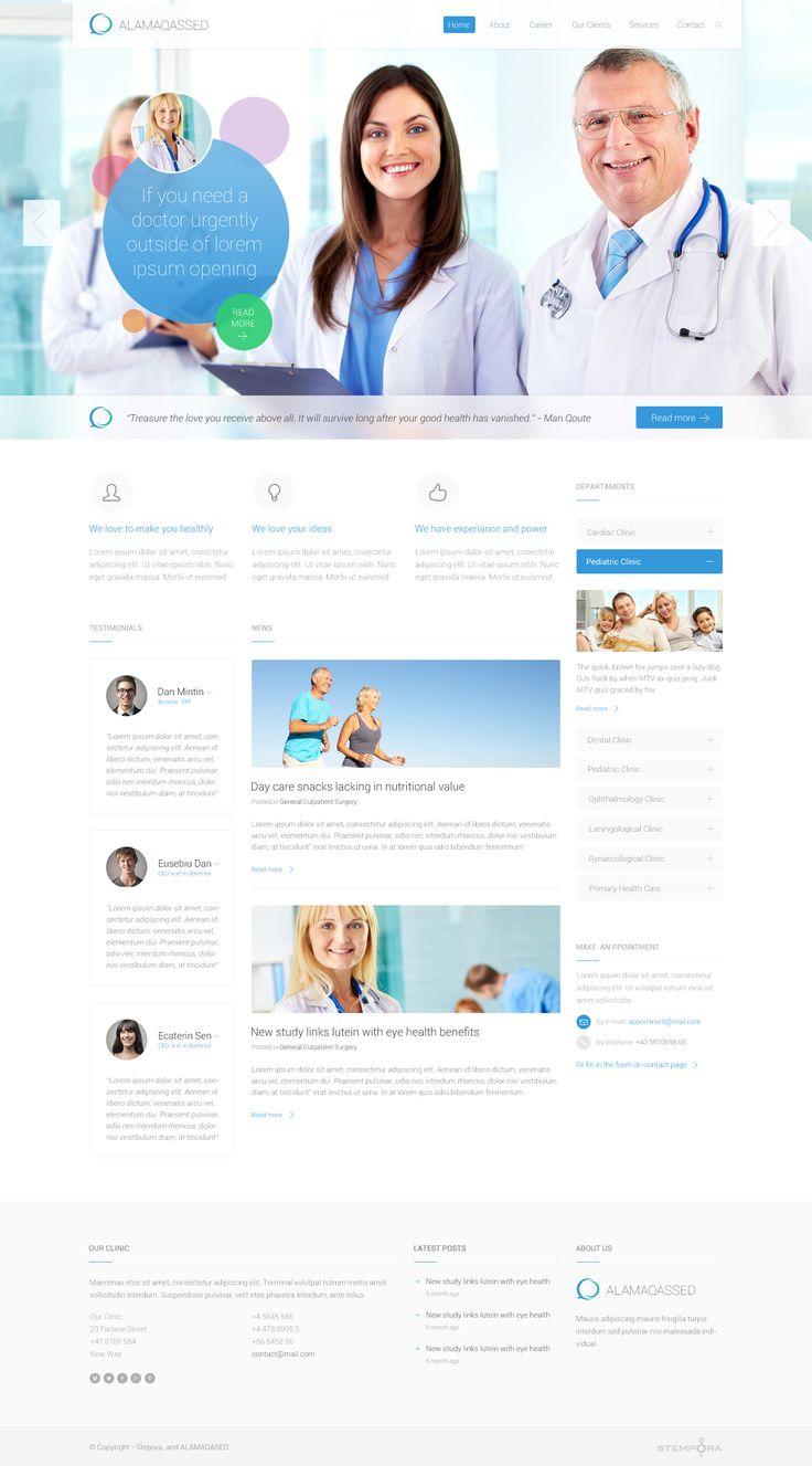 Medical Website. Work in progres...