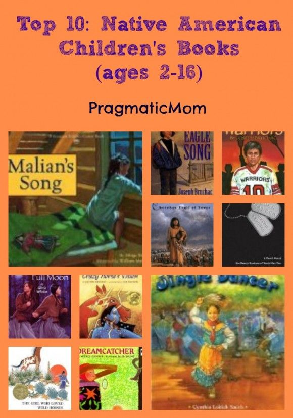 Top 10: Native American Children's Books (ages 2-16) :: PragmaticMom