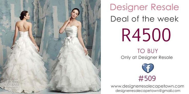 @Designer_REsale #weddingbargain
