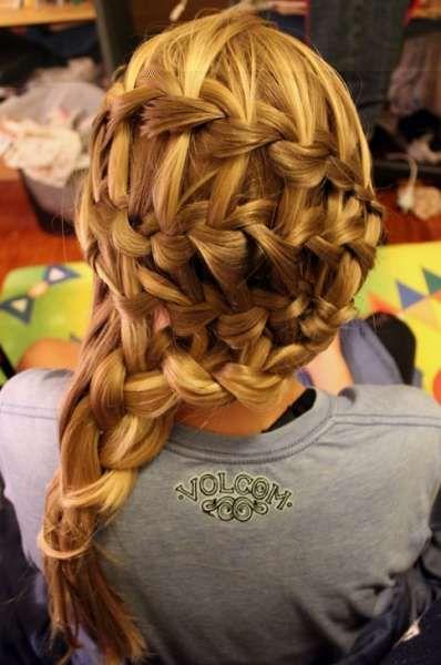 warkocze 4909  #hairstyle