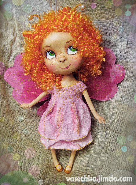Озорные, добрые, сказочные куклы Катерины Васечко, созданные в необычной технике. Знакомство и интервью с автором / Интервью с авторами кукол / Бэйбики. Куклы фото. Одежда для кукол