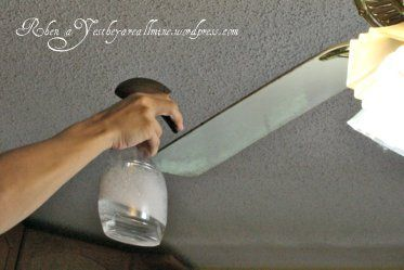 How to clean ceiling fan. Never would've thought of that