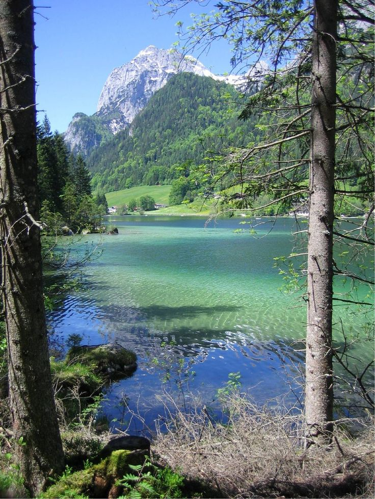 "The ""Hintersee"" is a Lake in the south east of Bavaria. 