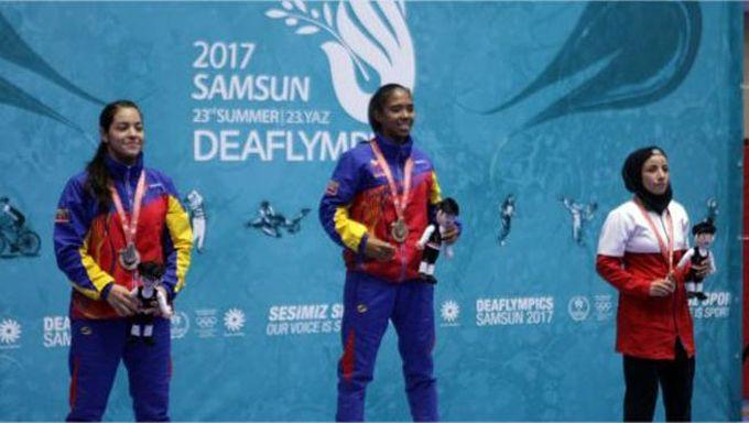 Venezuela consiguió cuatro medallas en los Juegos Sordolímpicos 2017 #Deportes #Ultimas_Noticias