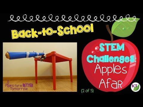 Video shows how to do a Back-to-School STEM Challenge: Apples Afar. Get students thinking critically, working collaboratively, while engaged in hands-on learning from day 1. Click through or pin for later!