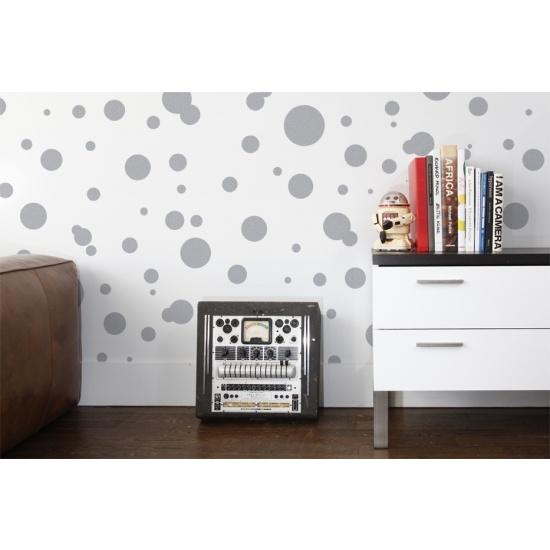 Aimee Wilder Wallpaper - Space Dots in Glimmer - Wallpaper - Wall Art - Category