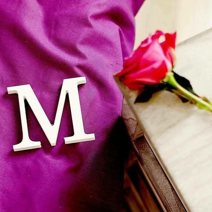 Pin By بنت محمد On Letter M Dad Stylish Alphabets Letter Photography Profile Picture For Girls