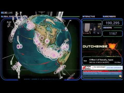 2/26/2017 -- Nightly Earthquake Update -- HAARP reactivates - PACIFIC EARTHQUAKE ALERT 6-9 days #Dutchsinse