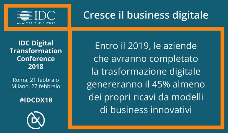 Cresce il business digitale #digitaltransformation