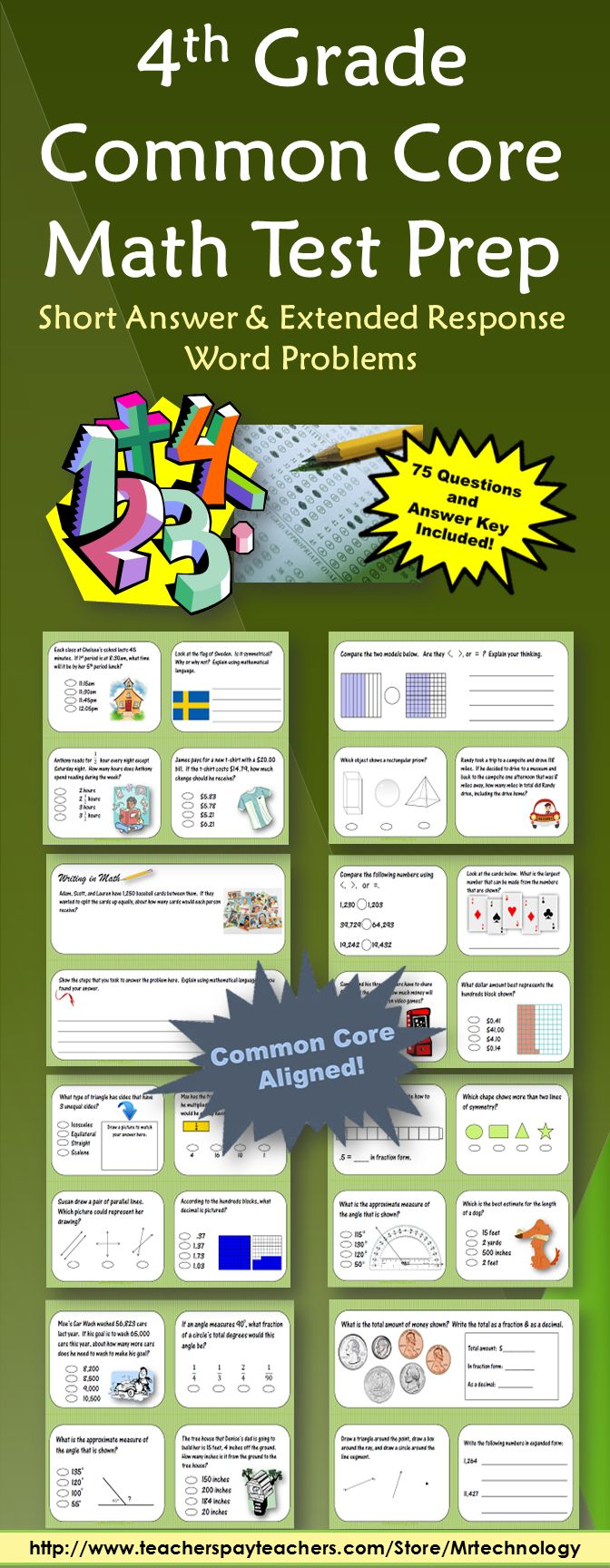 Uncategorized 4th Grade Math Test Prep Worksheets 25 best ideas about math test on pinterest year 4 maths 4th grade common core prep packet