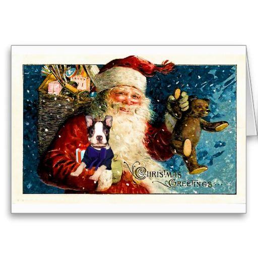 17 best Boston Terrier Christmas Cards images on Pinterest ...