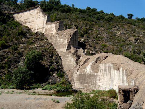 The Malpasset Dam breach, 2 December 1959, created a massive