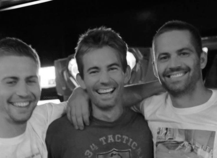 """domsletty: """" Paul Walker with his brothers Cody and Caleb Walker """"""""Paul was very aware of how blessed he was, and how fortunate he was, and his successes, and he never forgot that, which is why you've only ever heard good things about my brother. Is..."""
