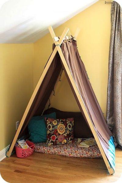 Toddler Play Tent: DIY or Buy? | Tent Tutorials | Sweet Happy Life