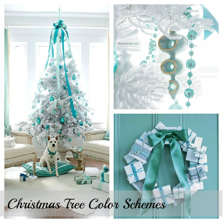 17 best images about o tannenbaum on pinterest for Christmas tree color schemes