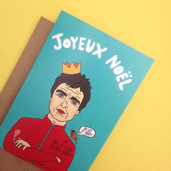 Noel Gallagher Christmas Card