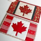 Canadian Flag (Maple Leaf) Mug Rug