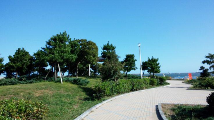 日立港なぎさ公園 : 日立市, 茨城県 トイレ、水飲み場有