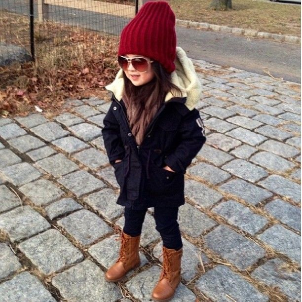 winter style. funny....this is my go-to winter outfit.... :)