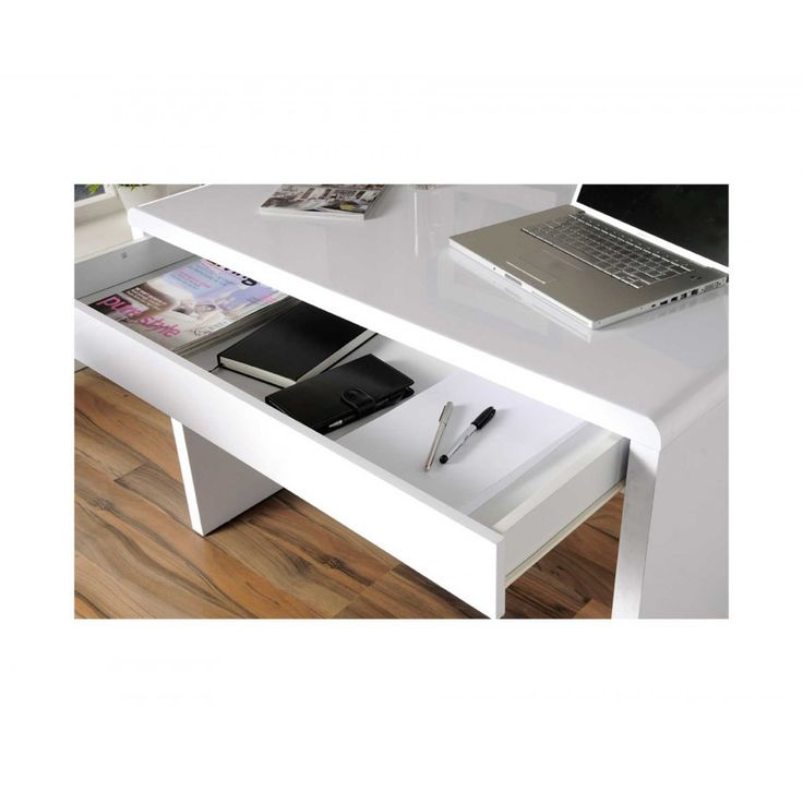 Office White Gloss Desk - Ideas to Decorate Desk Check more at http://www.sewcraftyjenn.com/office-white-gloss-desk/