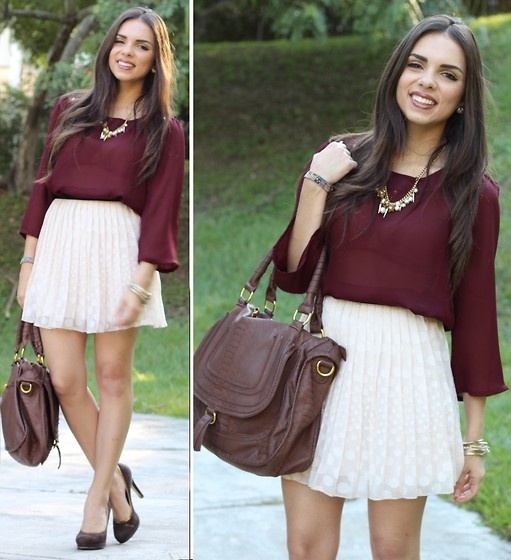 Love this outfit for #aggiegameday...minus the heels and huge purse...