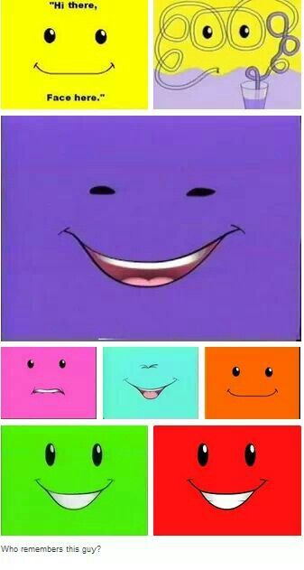 So simple, yet so amusing. Face #Nickelodeon