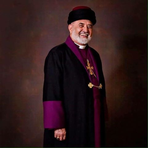 """Mar Dinkha IV, Catholicos-Patriarch of the Assyrian Church of the East.The Lord has sworn and will not change his mind,     """"You are a priest forever according to the order of Melchizedek.""""-Psalm 110:4"""