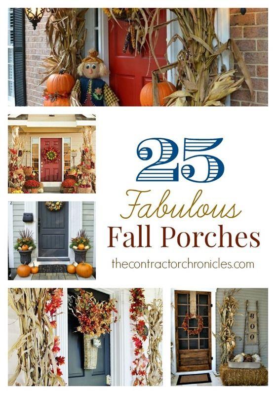 25 fabulous fall porches