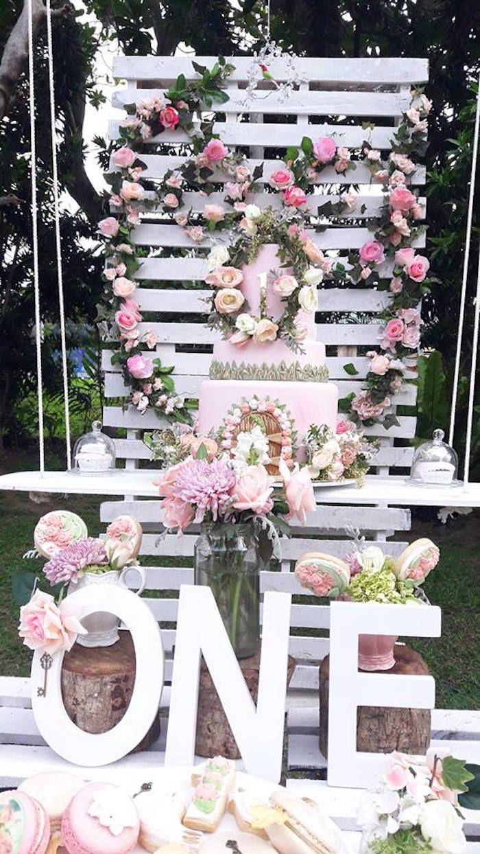 239 best party flowers floral arrangements images on pinterest secret garden birthday party izmirmasajfo Gallery