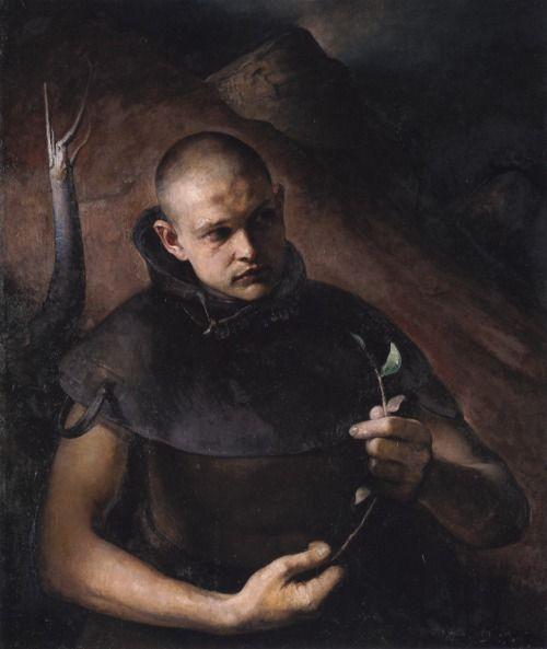 Odd Nerdrum, Boy with Twig