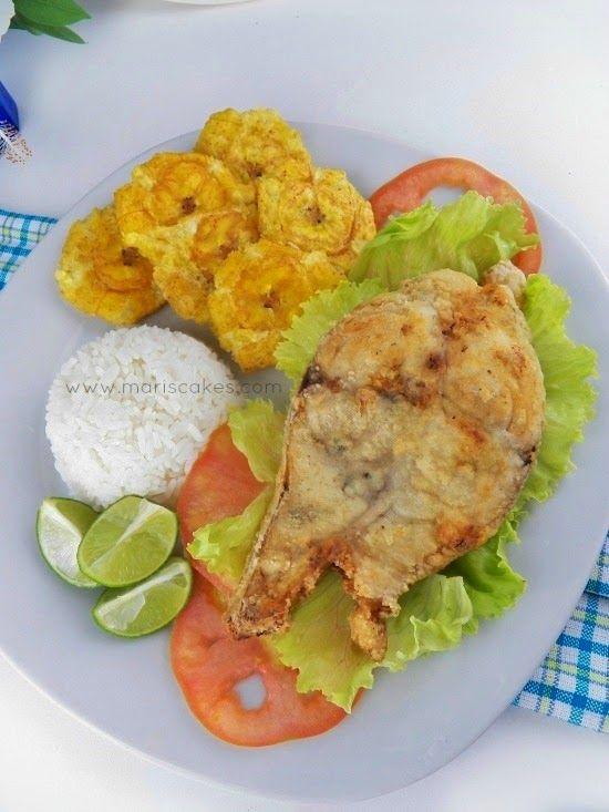 Preparar un delicioso pescado frito es casa es mucho más fácil de lo que piensas, sigue mi receta y tendrás éxito. dominican food, recetas dominicanas #pescadofrito
