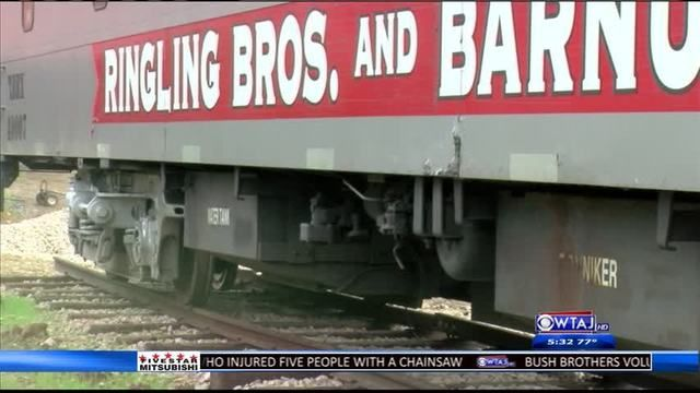 DuBois attraction holds two of the last Ringling Brothers Circus trains