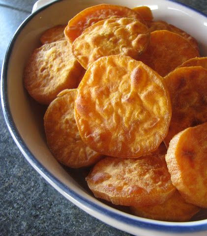 Simple Snacks: Sweet Potato Dollars
