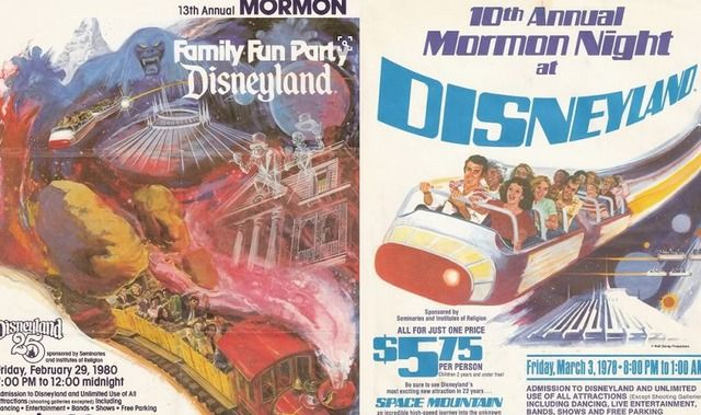 If you were Mormon and lived in the 70s and 80s, you could have gotten into Disneyland for six bucks. And find out what President Monson has to say about his adventures at Disneyland.