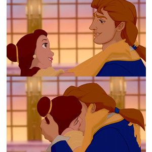 The best disney kiss :)