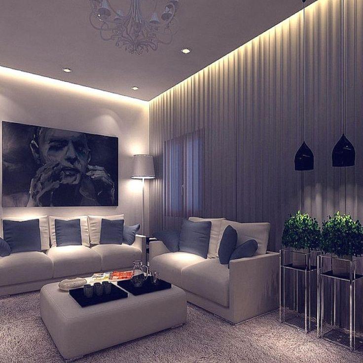 48 фото точечные светильники в интерьере гостиной – 2019 ...