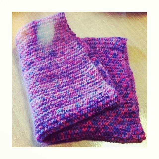 Warm wool neck (crochet) multi color violet-blue DIY www.facebook.com/levaje.crafts http://instagram.com/levaje