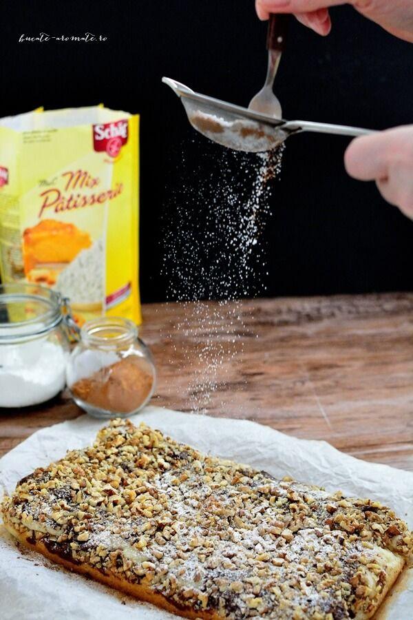 Prăjitura semiluna cu nucă (de post)