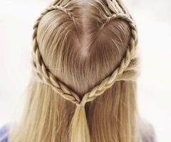 have to learn to french braid before i can do this for my daughter... good thing i probably have another ten years to learn =)