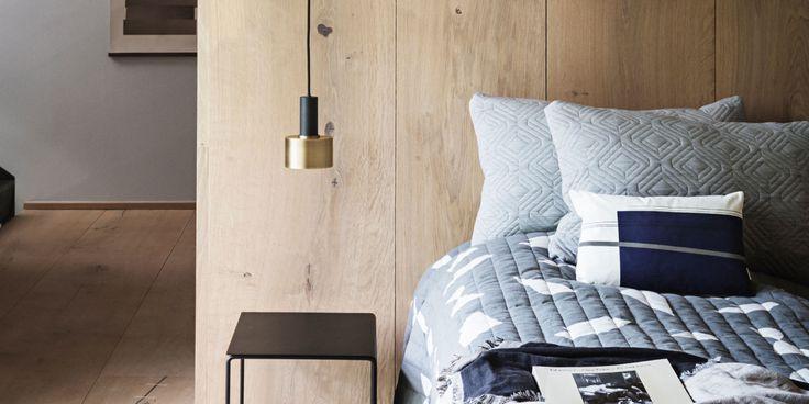 (P)inspiratie: 16x hout voor een warme, natuurlijke look aan de muur | ELLE Decoration NL
