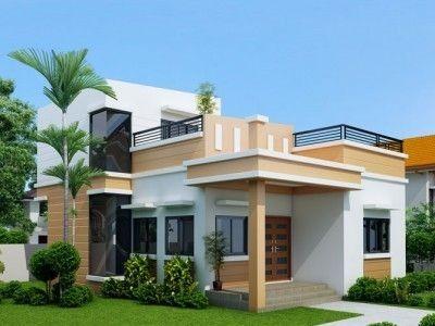 Modernes Haus Design Mit Dachterrasse Neue Dekoration Ideen 2018