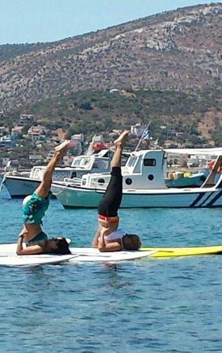 #supyoga #stunduppaddle#yoga