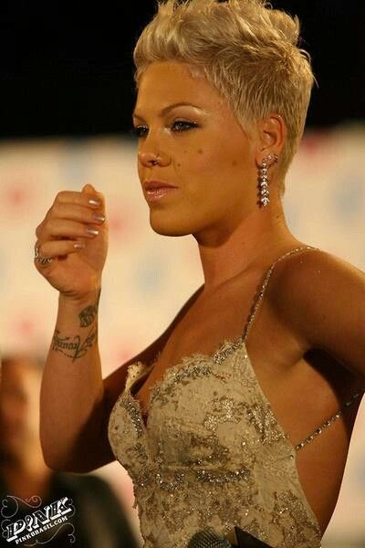 P!nk. She's gorgeous!