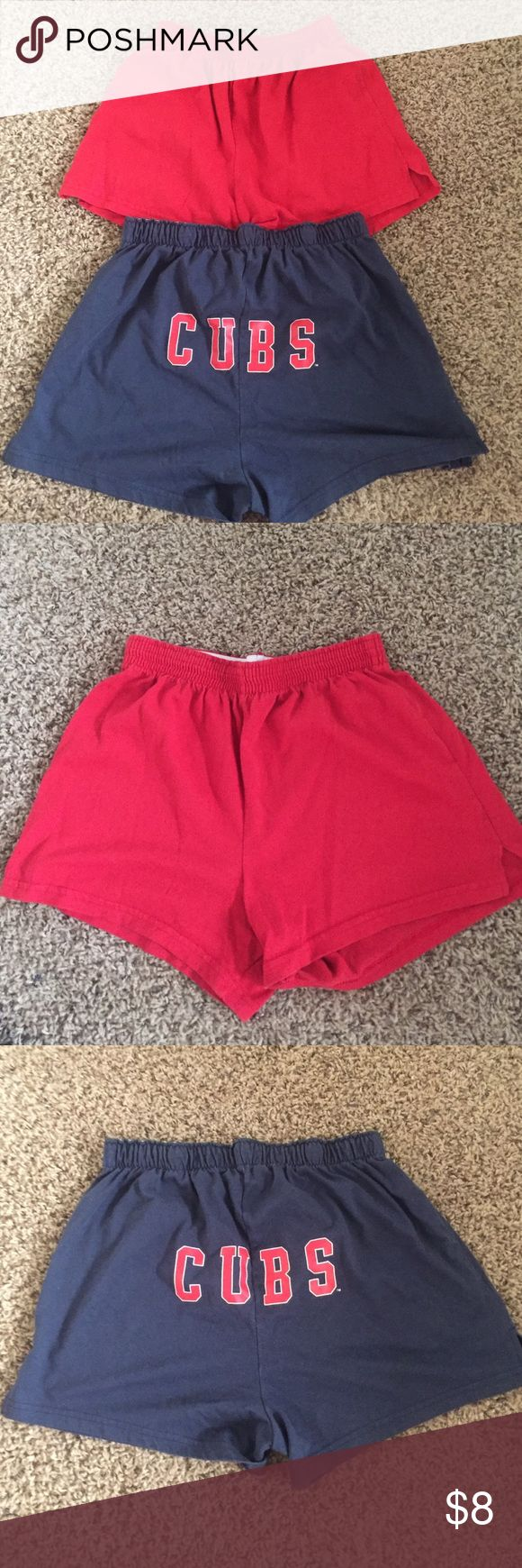 RED Soffee Shorts  (cute and comfy!) Red soffee shorts(size s). 🔵Please use the offer button for all offers!🔵 ❌NO TRADES!❌ Soffe Shorts