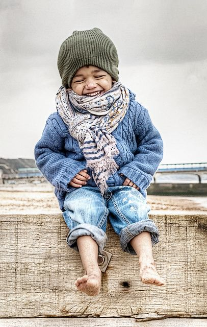 This little guy's entire outfit is so adorable