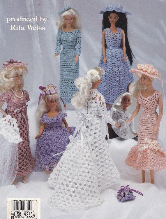 Wedding Dresses American School of Needlework by LucyGooseyDolls