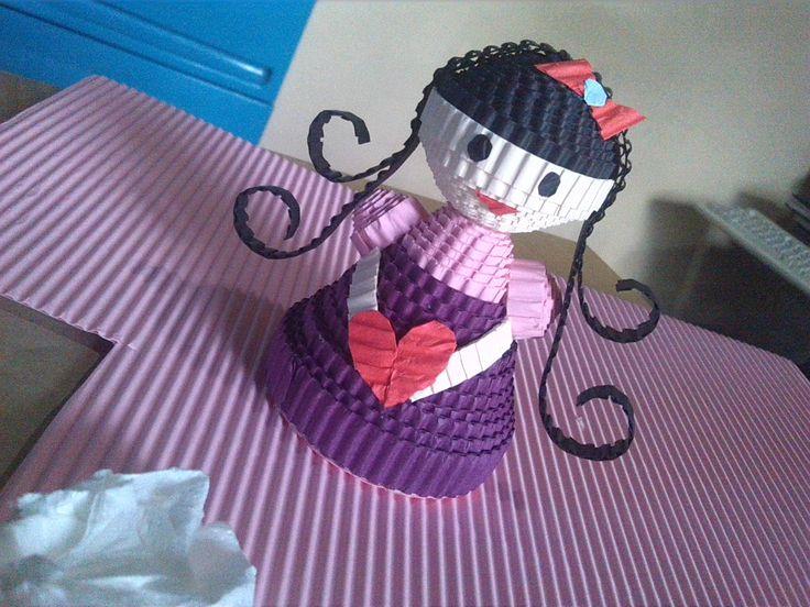 my sweet girl #kokoru #papercraft #kokorupaper
