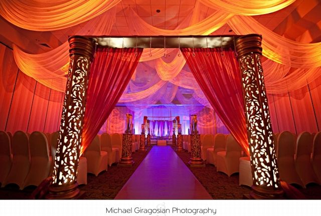 Bollywood-themed Backdrop | Home Ceiling Drapes Stage ...
