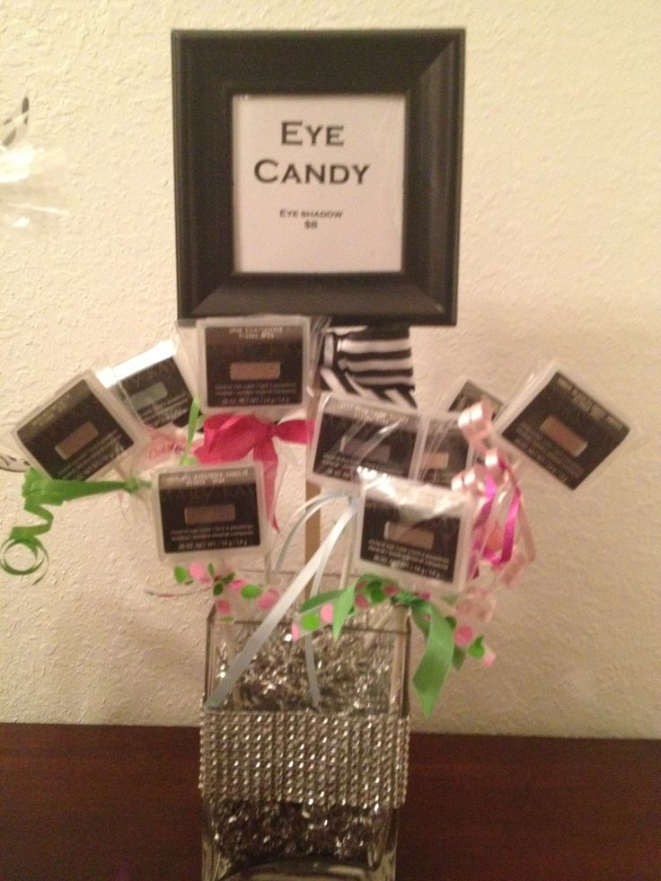 Mary Kay Eye Candy, another cute way to display your eye shadows. These are also great party favors! As a Mary Kay Beauty Consultant I can help you with all your  party and beauty needs www.marykay.com/carmentgray